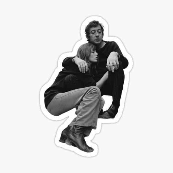 Jane Birkin et Serge Gainsbourg Sticker