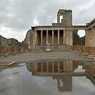 The ruins of Pompei by Arie Koene