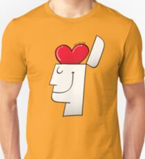 A Heart in my Head Slim Fit T-Shirt