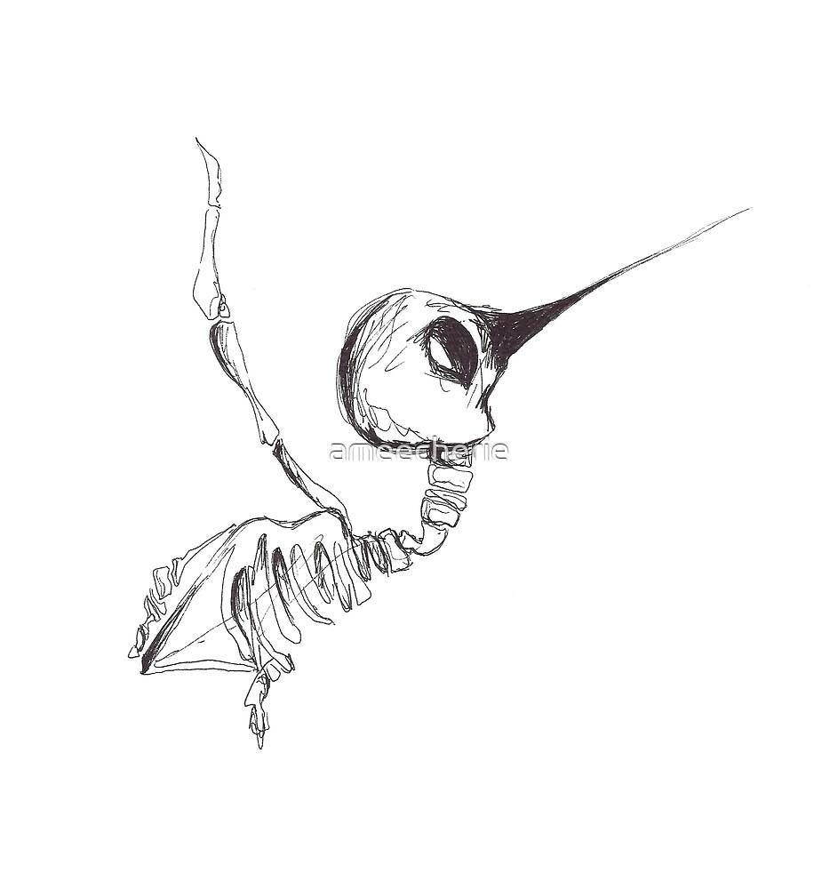 Hummingbird by ameecherie
