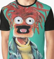 Pepe The King Prawn Fan Art  Graphic T-Shirt