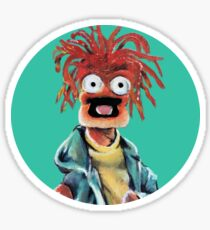 Pepe The King Prawn Fan Art  Sticker