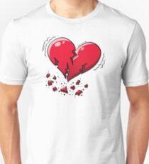 Extreme Heartquake Slim Fit T-Shirt