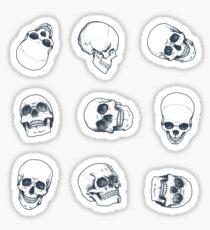Schädel Sticker