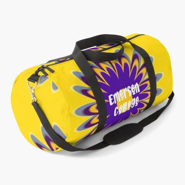Retro Emerson College Duffle Bag