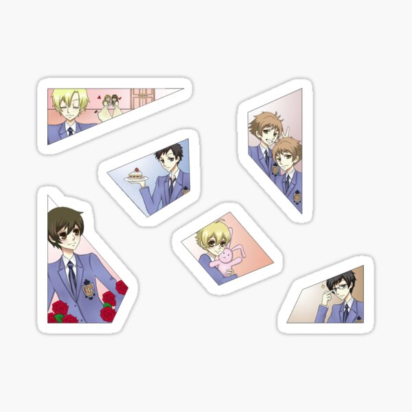 Ouran Highschool Sticker Pack Sticker