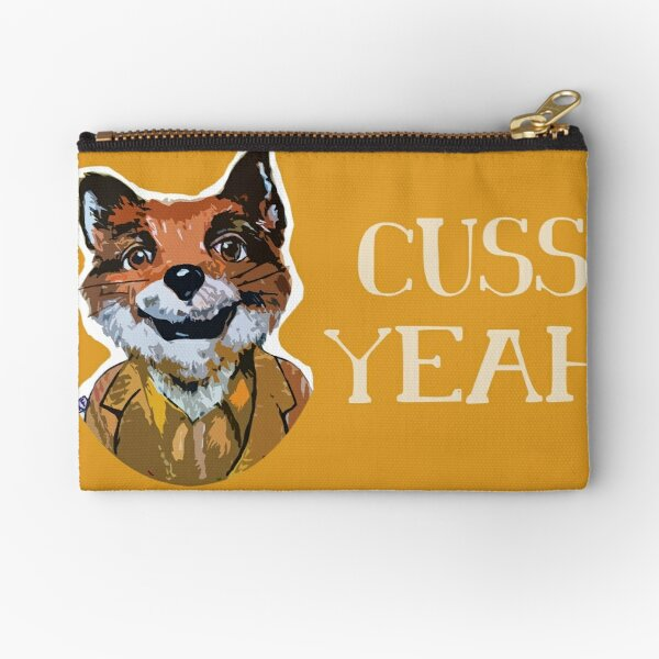 Cuss Yeah - MR FOX Zipper Pouch