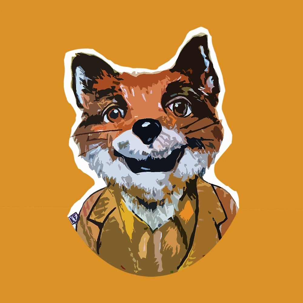 Cuss Yeah - MR FOX by Kristin Frenzel