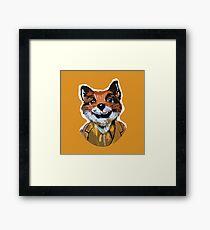 Cuss Yeah - MR FOX Framed Print