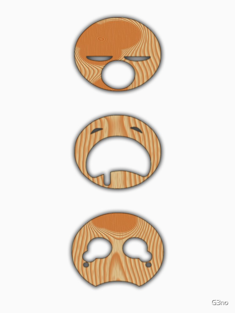 WOOD FACES by G3no