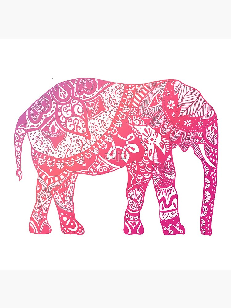 Light Pink Elephant by adjsr