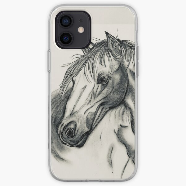 Beauty in Carcoal iPhone Soft Case