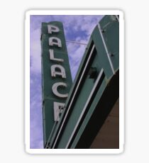 Palace Theater Sign Sticker
