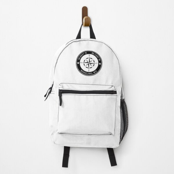 Wheeling, West Virginia Geographical Coordinates Backpack