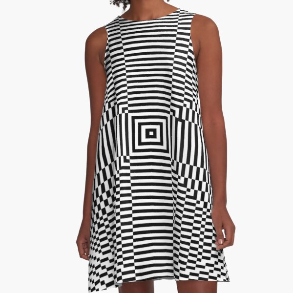 Big Pixel Ellipse Chart, A-Line Dress