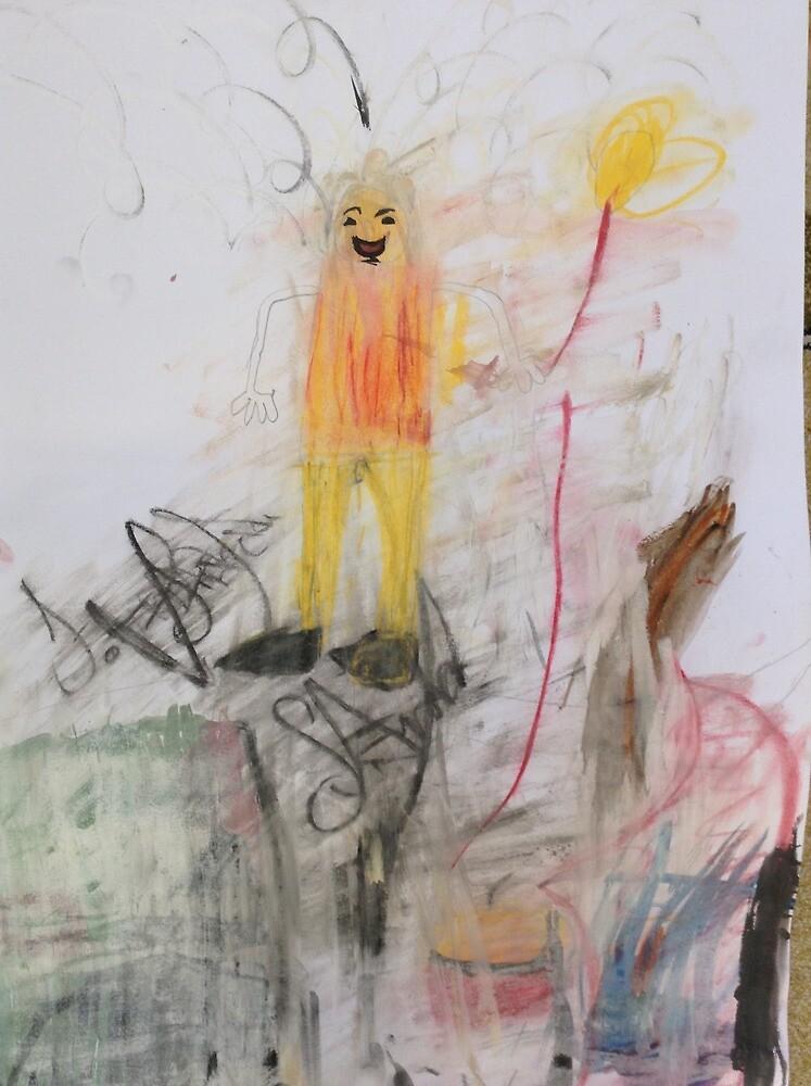 The  Girl by SunayArda