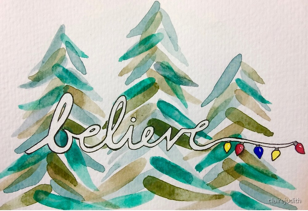 Believe in Winter  by clairejudith