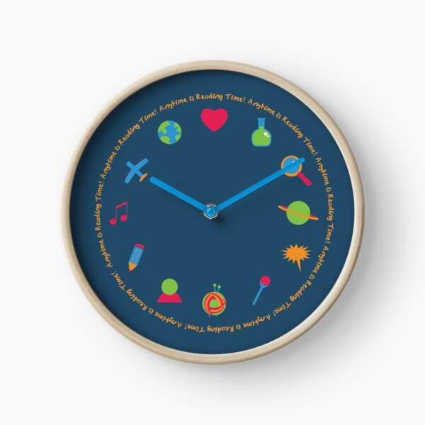 Anytime is Reading Time! Clock