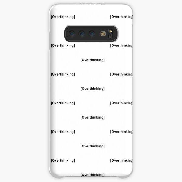 Cita de pensar demasiado Funda rígida para Samsung Galaxy