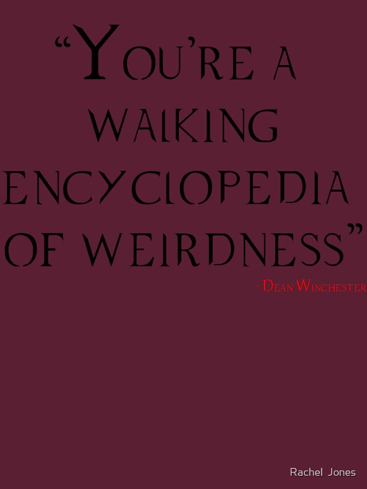 Walking Encylopedia by rachloujones