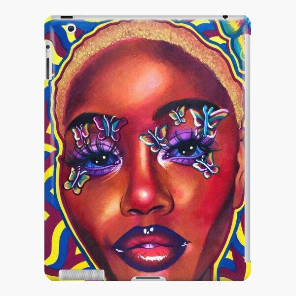 Kidcore Make-up Porträt iPad – Leichte Hülle