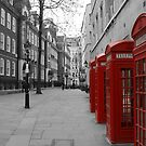 London Telephone Booths by grampsman
