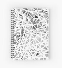 Apparition of Reflecting Abstraction Spiral Notebook