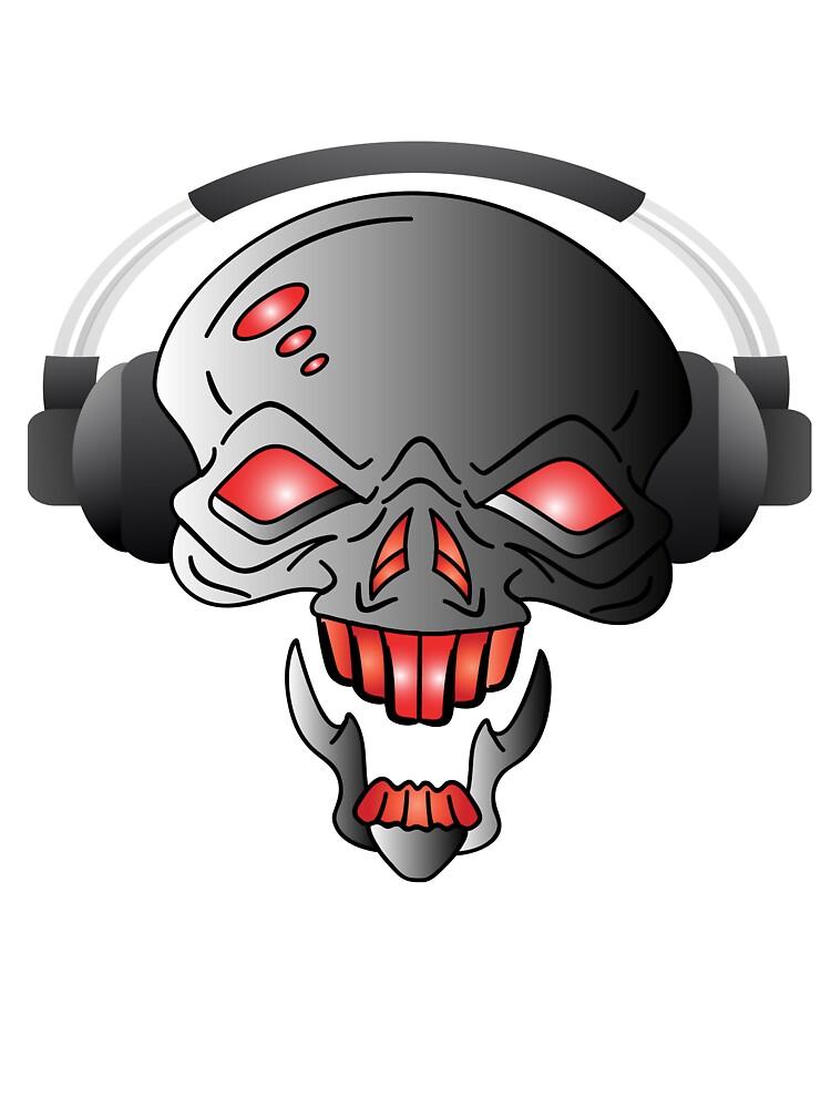 DJ Skull by Deanozoff