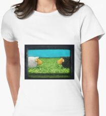 Two Sheep! Women's Fitted T-Shirt
