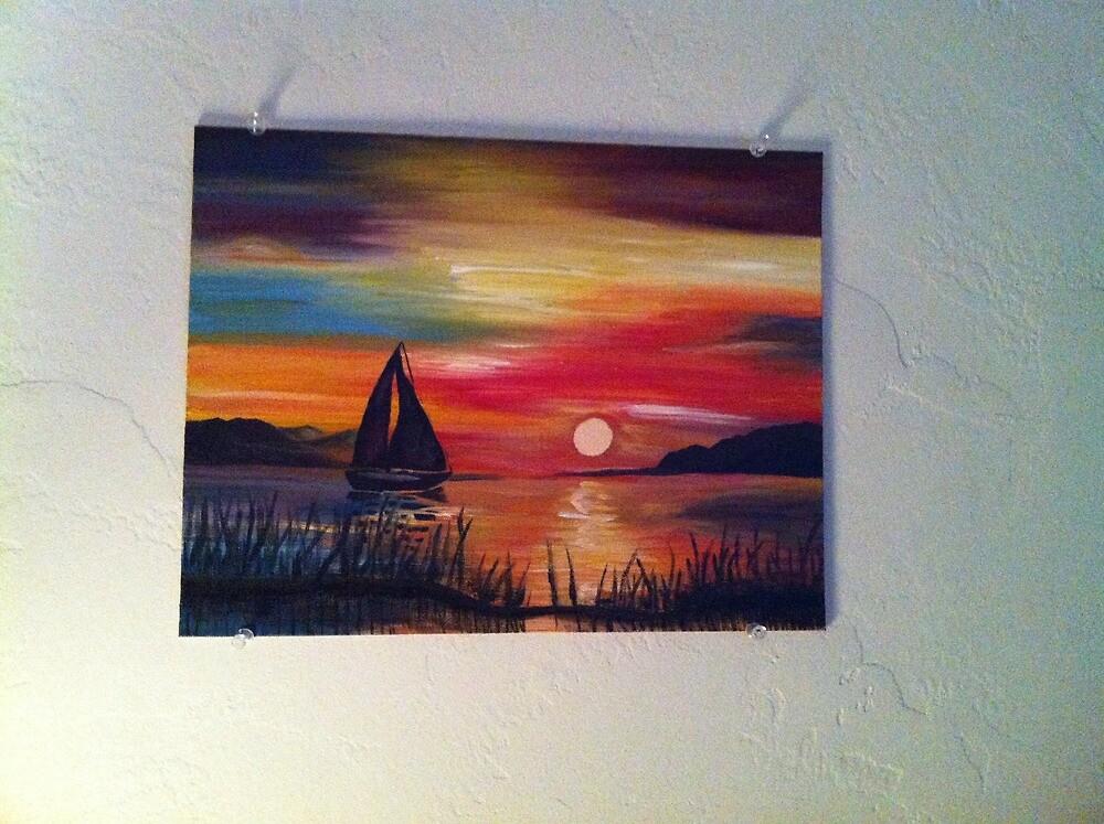 Sail away by Annie Morgan