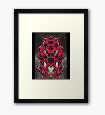 Biomechanical Insect Framed Print