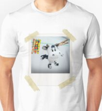 Cow on Wire Slim Fit T-Shirt