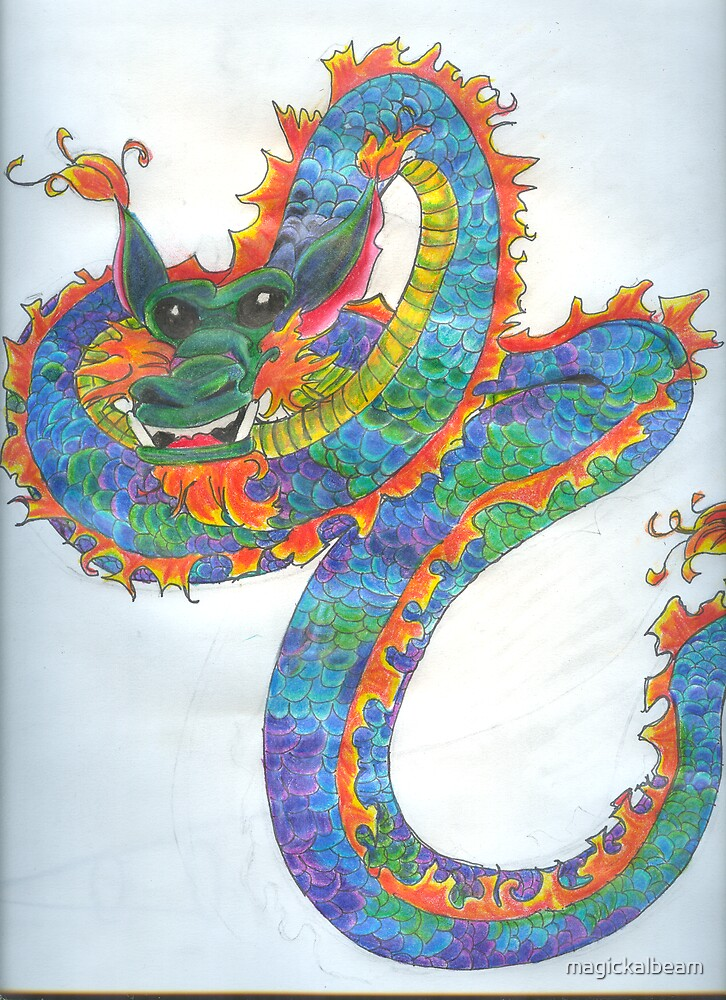 Chinese Dragon by magickalbeam