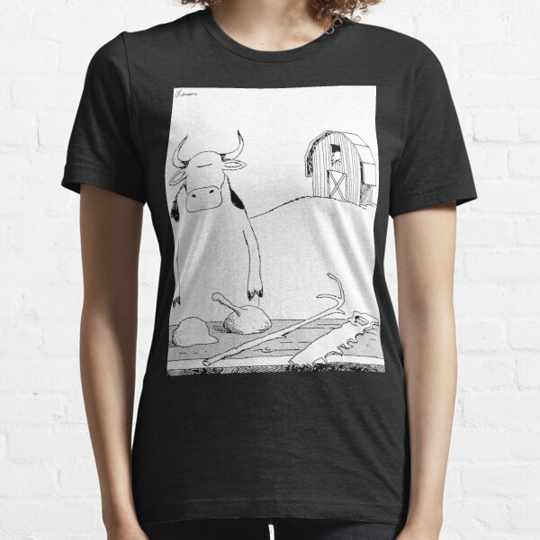 Cow Tools - HQ Cropped Essential T-Shirt
