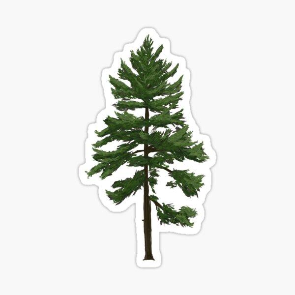 Pastel Pines Sticker