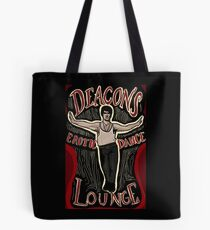 What We Do In The Shadows Deacon's Erotic Dance Lounge Tote Bag