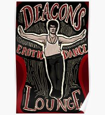 What We Do In The Shadows Deacon's Erotic Dance Lounge Poster