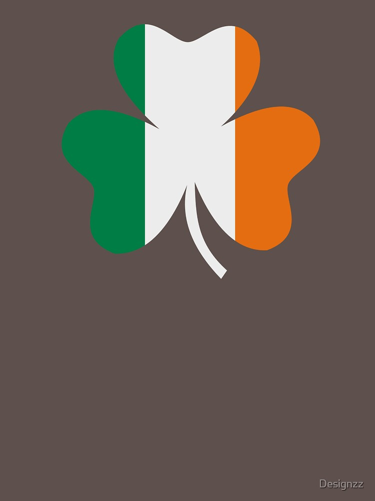 Ireland flag shamrock by Designzz