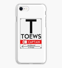 Toews Phone Case (White) iPhone Case/Skin