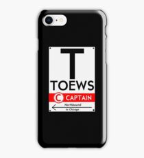 Toews Phone Case (Black)  iPhone Case/Skin