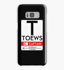 Toews Phone Case (Black)  Samsung Galaxy Case/Skin