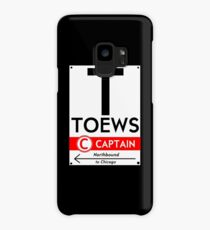 Toews Phone Case (Black)  Case/Skin for Samsung Galaxy
