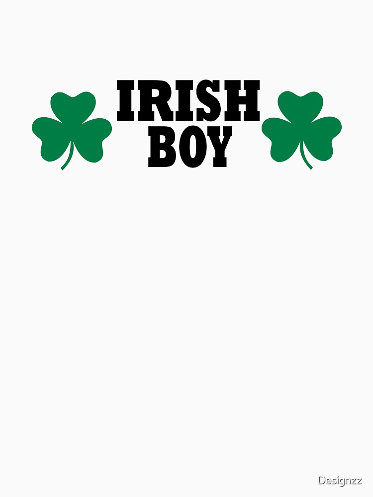 Irish shamrock boy by Designzz