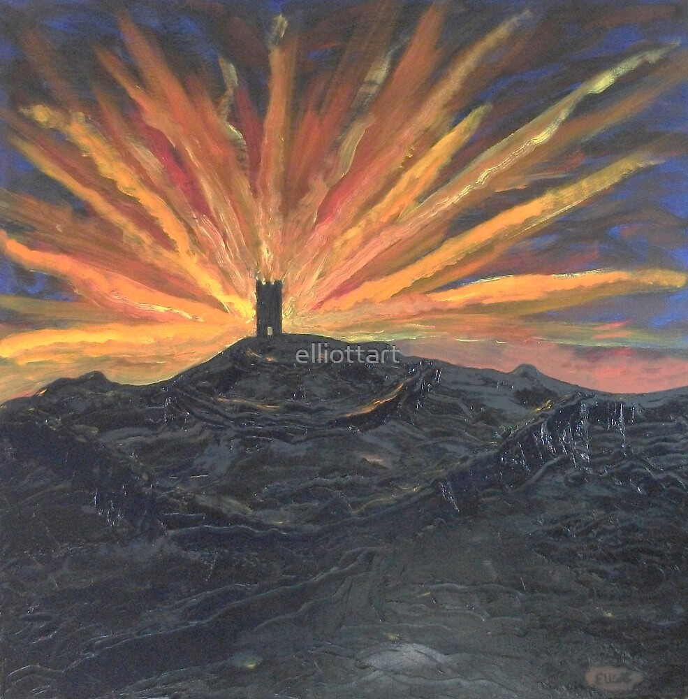 Glastonbury Tor by elliottart