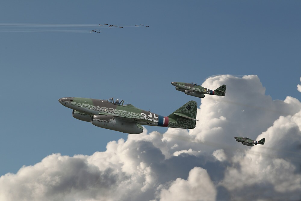 Me262 - Eagles Rising by Pat Speirs