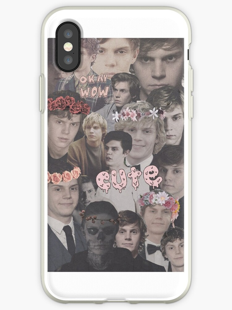 evan peters collage by Alice Bell