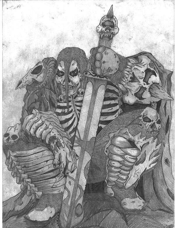 King Fiend by goryterror