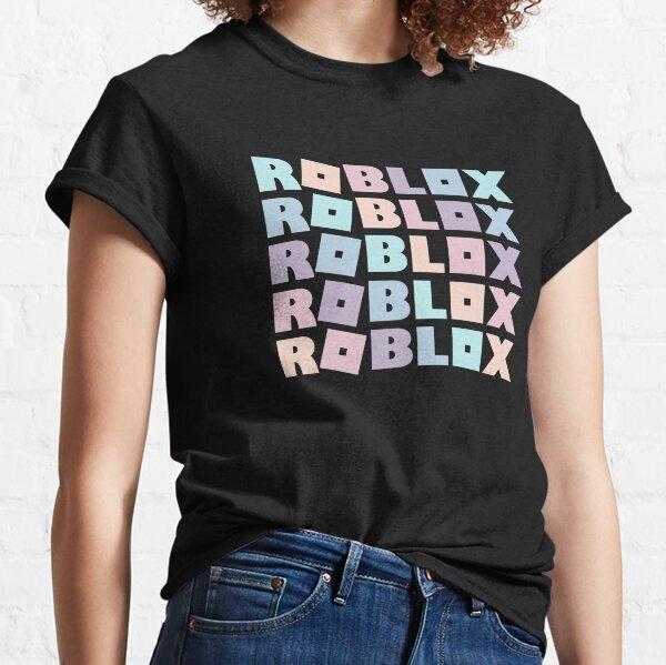 Roblox Pastel Rainbow Adopt Me Camiseta clásica