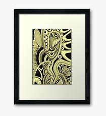 Vulturous Flower  Framed Print