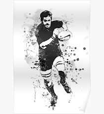 Rugby Player Poster